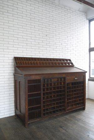 画像1: アンティーク 1910年代〜 HAMILTON 大型ウッドカウンター