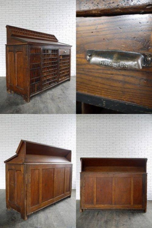 他の写真3: アンティーク 1910年代〜 HAMILTON 大型ウッドカウンター