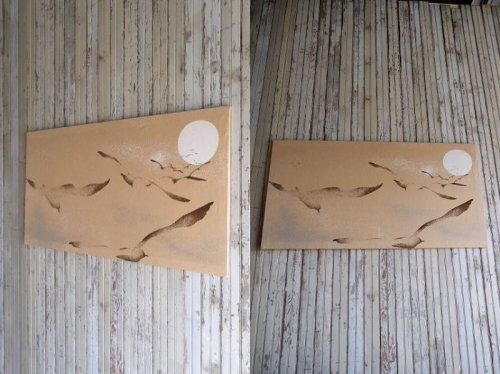 他の写真1: アンティーク ファブリックパネル