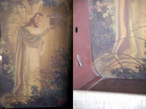 他の写真1: アンティーク キリストモチーフ ライトサイン