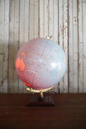 画像1: アンティーク GEORGE F. CRAM 地球儀ランプ