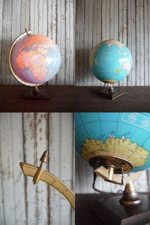 他の写真1: アンティーク GEORGE F. CRAM 地球儀ランプ