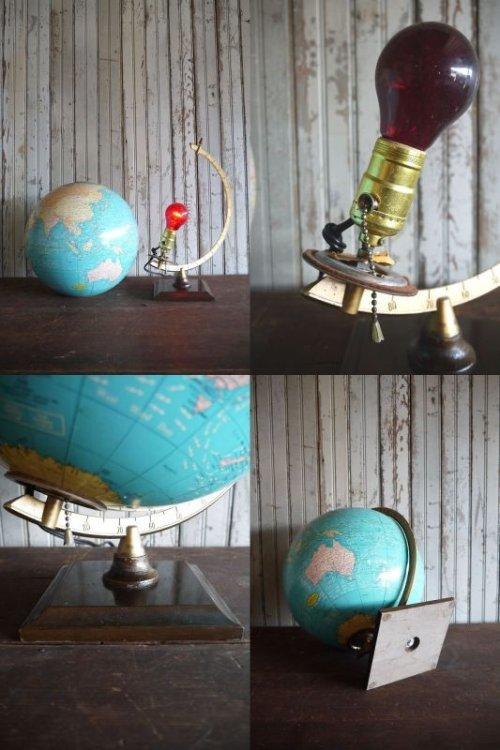 他の写真3: アンティーク GEORGE F. CRAM 地球儀ランプ