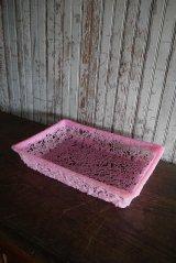 アンティーク 樹脂製 トレイ