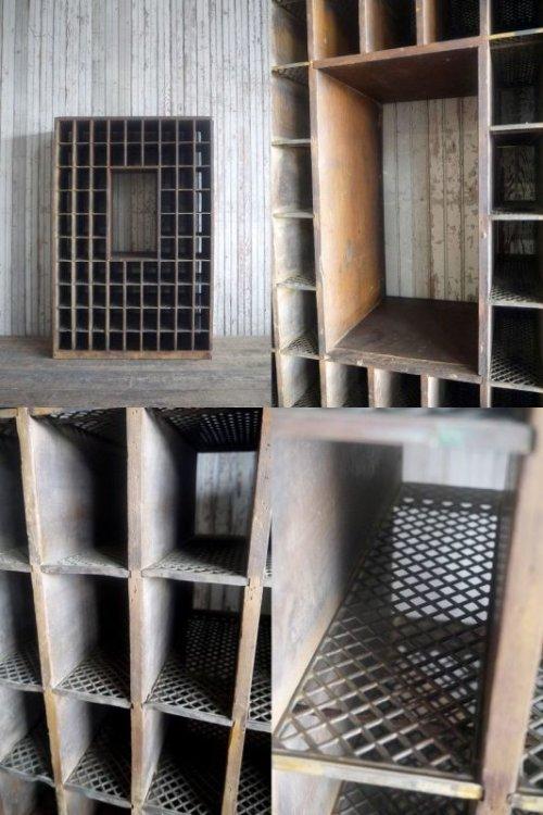 他の写真1: アンティーク ポストオフィス 仕分け棚