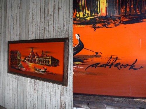 他の写真1: アンティーク Ash brook アートウォールデコ
