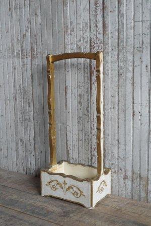 画像1: アンティーク ITALY製 ウッドボックス