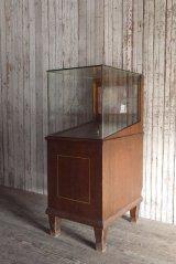 アンティーク 1900年代初頭 ガラス ショーケース *