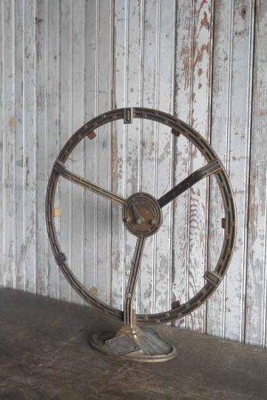 画像1: アンティーク Herald Electric Company.Inc ラジオスピーカーオブジェ