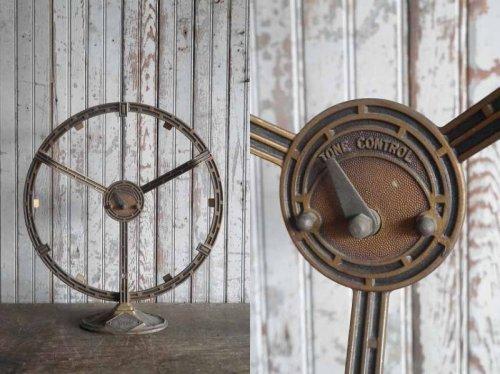 他の写真1: アンティーク Herald Electric Company.Inc ラジオスピーカーオブジェ