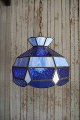 アンティーク ステンドグラス 吊り下げランプ