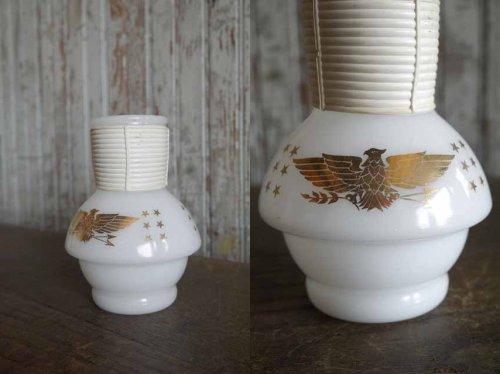 他の写真1: アンティーク ミルクガラス ウォーターウォーマーボトル(観賞用)