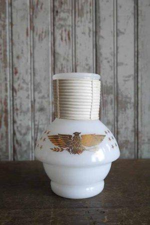 画像1: アンティーク ミルクガラス ウォーターウォーマーボトル(観賞用)