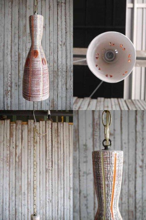 他の写真3: アンティーク 陶器製 吊り下げランプ 108