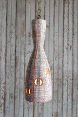 アンティーク 陶器製 吊り下げランプ 107