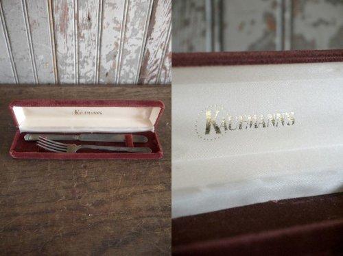 他の写真1: アンティーク ナイフ&フォークセット(観賞用)