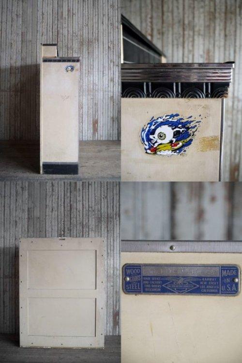 他の写真3: アンティーク American Cabinet Co.  ミルクペイント ウッド×メタル メディカルキャビネット