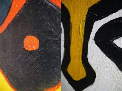 他の写真2: アンティーク Margaret Johnson アートパネル