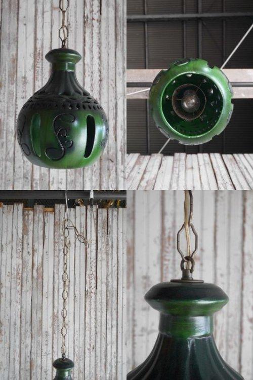 他の写真3: アンティーク 石膏製 デザイン吊り下げランプ