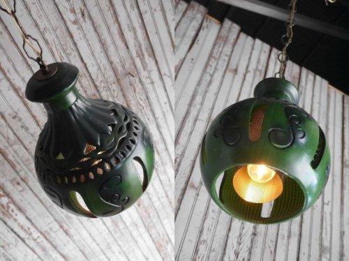 他の写真1: アンティーク 石膏製 デザイン吊り下げランプ