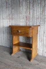 アンティーク ウッド 小型飾り棚