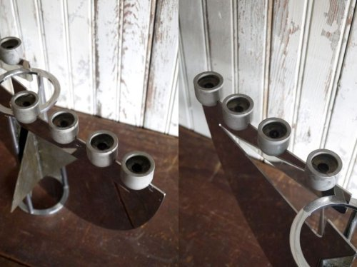 他の写真2: アンティーク 8灯 メタルキャンドルホルダー